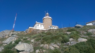 The lighthouse at Finisterra